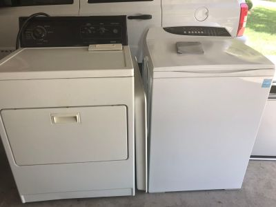 Fisher & Paykel Washing Machine & Kenmore 80 Series Dryer - Washer & Dryer Set & Pan - 83rd K7, Lenexa XP