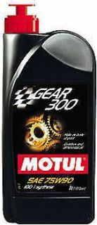 Find Motul GEAR 300 75W90 1 Liter Bottle 100% Synthetic Ester Based Brand New 100118 motorcycle in Yulee, Florida, United States, for US $21.99