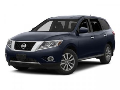 2015 Nissan Pathfinder S (Magnetic Black)