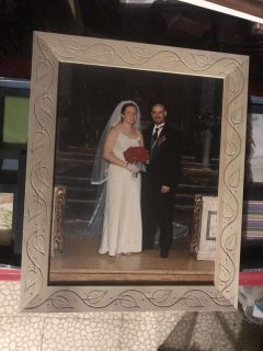 Large wooden picture frame