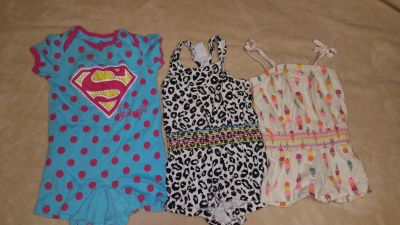 12 MONTH ROMPERS