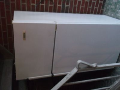Free Working 22-Year Old White Refrigerator