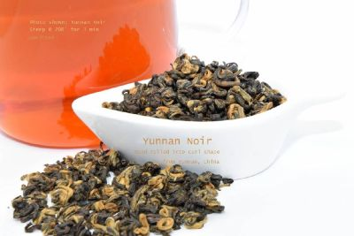Yunnan Noir | hand rolled in curl shae | morning tea 2oz