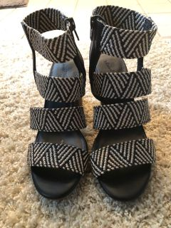 Heeled sandals from Target