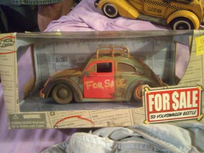 Collectable beatle car
