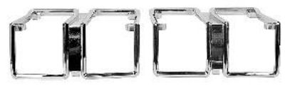 Buy 1971 Chevelle Park Lamp Bezels- PAIR motorcycle in Douglasville, Georgia, US, for US $64.00