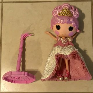 Lalaloopsy Collector Holiday Goldie Luxe Full Size Doll w/Stand Nice!