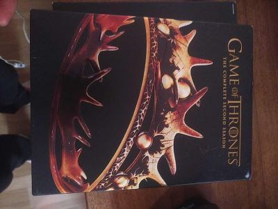 Game of thrones season 1 and 2 complete in CD's