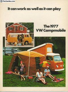 TENT oem vw bus camper accesory tent 1968-1979