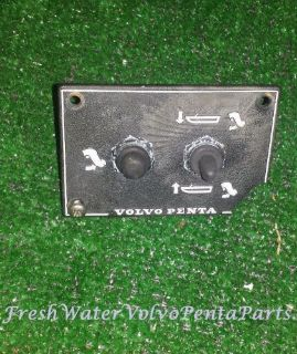 Purchase Volvo Penta Tilt and trim Switch Mechanical lift and hydraulic trim motorcycle in North Port, Florida, United States, for US $55.00