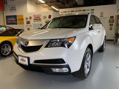 2012 Acura MDX Base w/Tech (White)