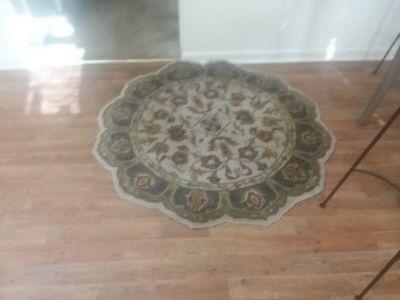 center round rug