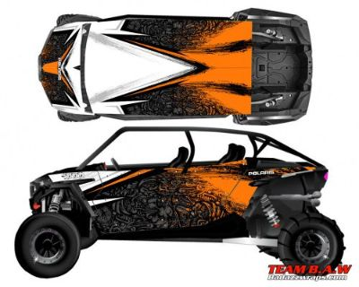 Purchase Polaris 4 RZR 1000 xp Design MXVEC 001 Decal Graphic Kit Wraps UTV Turbo Scoop motorcycle in Ogden, Utah, United States, for US $449.99