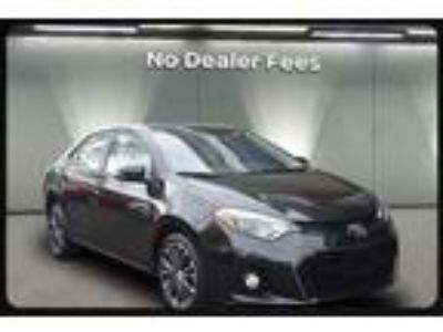 $12995.00 2014 TOYOTA Corolla with 53020 miles!