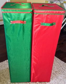 Tall Wrapping Paper Storage