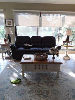 La-Z boy reclining sofa