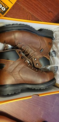 NEW WOMEN'S TIMBERLAND PRO ALLOY TOE WORK BOOTS SIZE 8.5