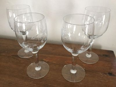 Princess house glasses 6 in high