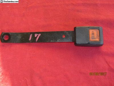 bay window bus seat belt receiver #17