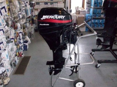 Buy 2002 15 HP MERCURY 4-STROKE LONG SHAFT REMOTE WITH CONTROLS motorcycle in Eagle, Michigan, United States, for US $1,700.00