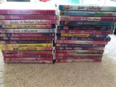 Barbies DVDs