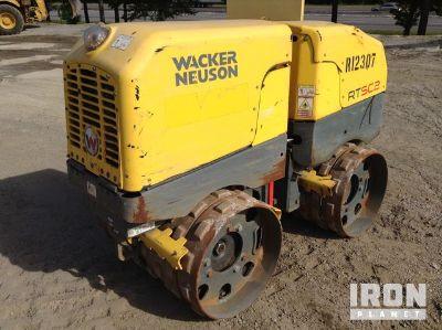 2014 Wacker Neuson RTSC2 Trench Compactor