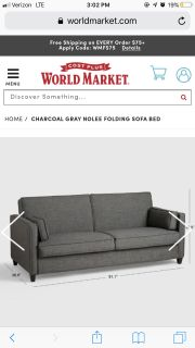 Nolee Folding Sofa Bed