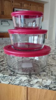 Anchor Hocking 6-Piece Glass Nested Food Storage Containers
