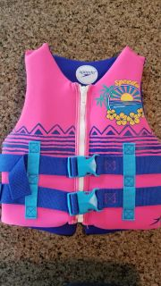 Youth life vest - GREAT condition