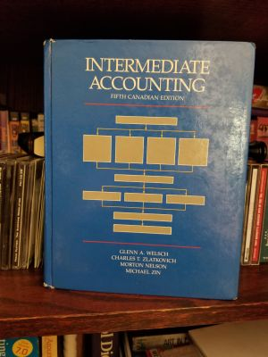 Intermediate accounting text book