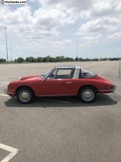 1968 912 Soft Window Targa