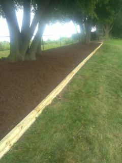 Landscaping, tree service, patios and mulch