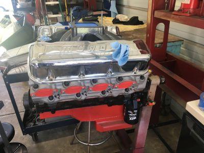 555ci ENGINE ALL FRESH