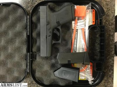 For Sale: Like New Glock 43 9x19