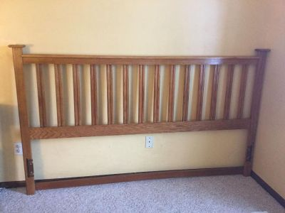 Raising money for a needy child in Africa: Queen or King Wood Headboard