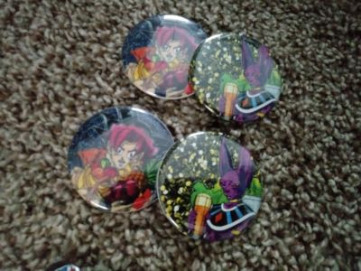 Boxer Pins, Boxer Buttons & Dragonball Z Buttons For Sale!