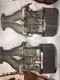 Carburetors Weber 44 IDFs rebuilt carbs