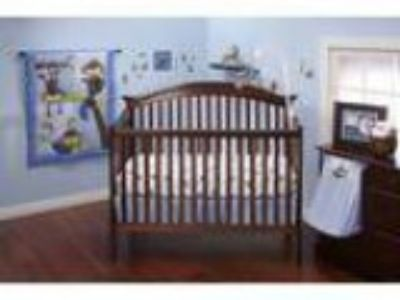 Little Bedding by NoJo Little Monkeys Piece Crib Bedding Se