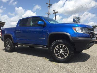 2018 Chevrolet Colorado (kinetic blue metallic)