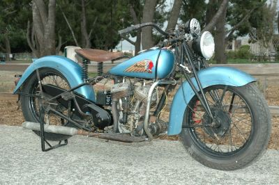 1937 Indian Scout Motorcycle