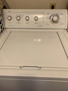 Top loading washer