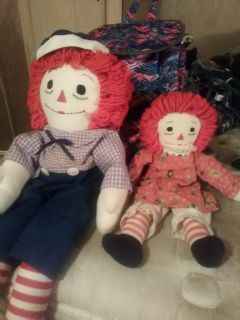 ragady Ann and Andy dolls