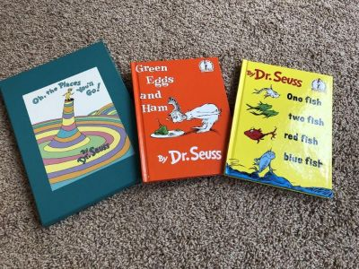 Lot of 3 Dr. Seuss Books All Are In Like New Condition