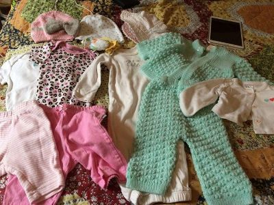 Lot of NB-3 month clothes