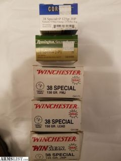 For Sale: 38 Special & 357 Magnum ammunition