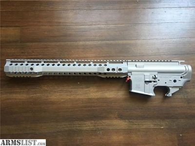 For Sale: Palmetto State Armory Silver AR15 Build Set M4