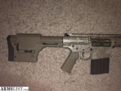 For Sale: Black rain ordnance predator 308 ar10