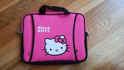 Hello Kitty tablet/mini laptop holder...Like new condition...$10