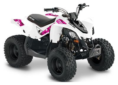 2019 Can-Am DS 70 ATV Kids ATVs Lancaster, NH