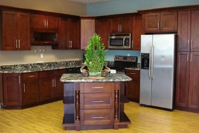 Buy the Cherry Wood Cabinets from GEC Cabinet Depot
